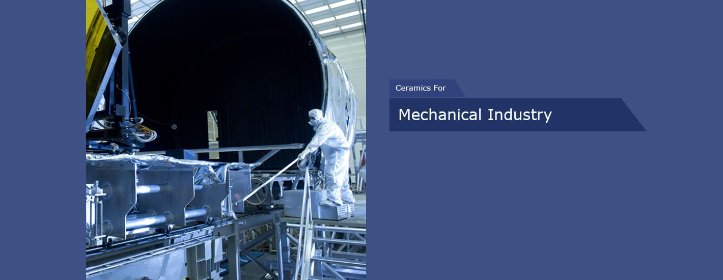 Technical Ceramics for Mechanical Industry in India